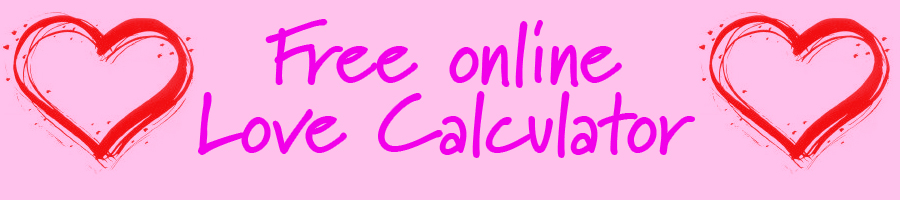 Free online love calculator