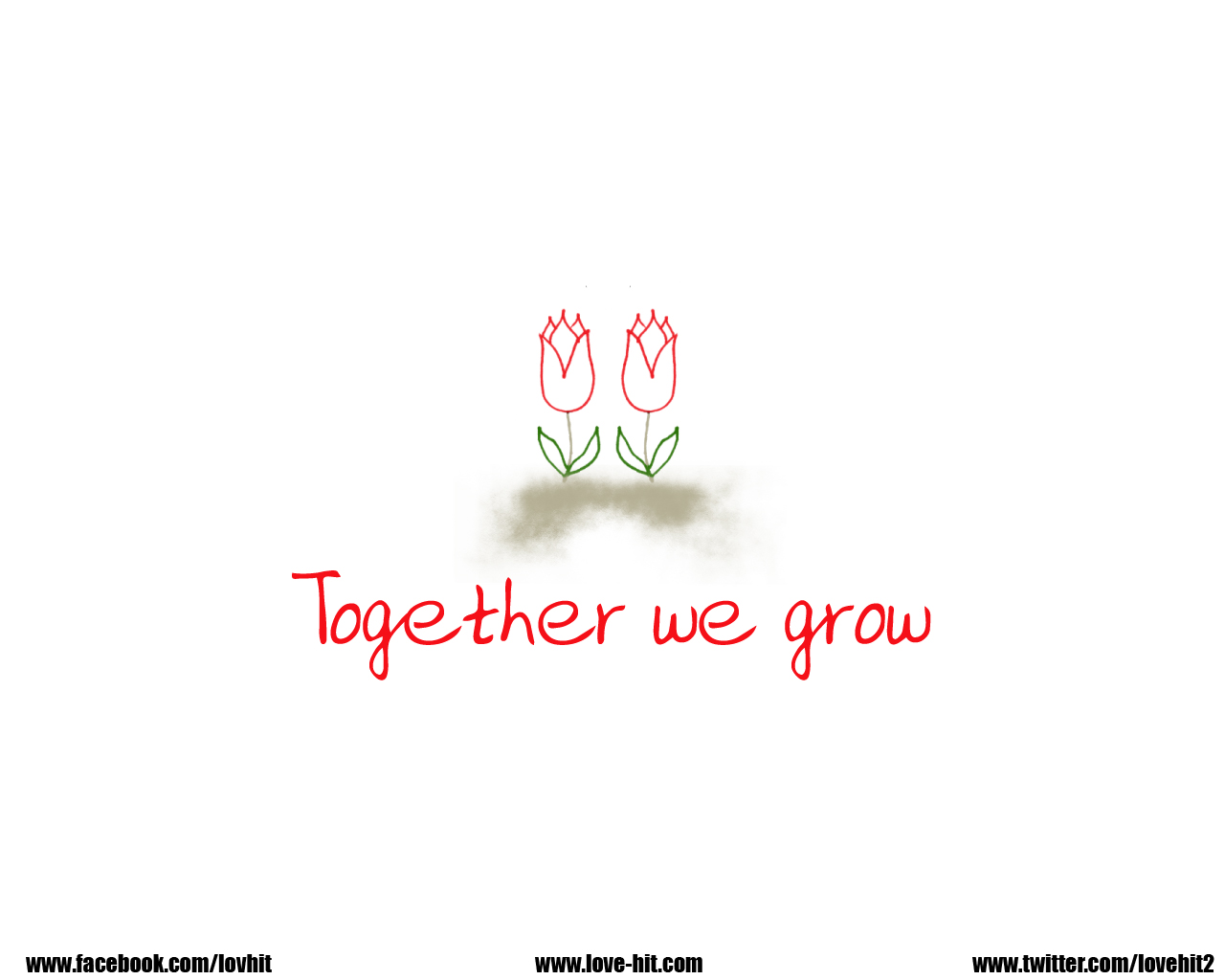 Together we grow, together we cherish, together we prosper, together
