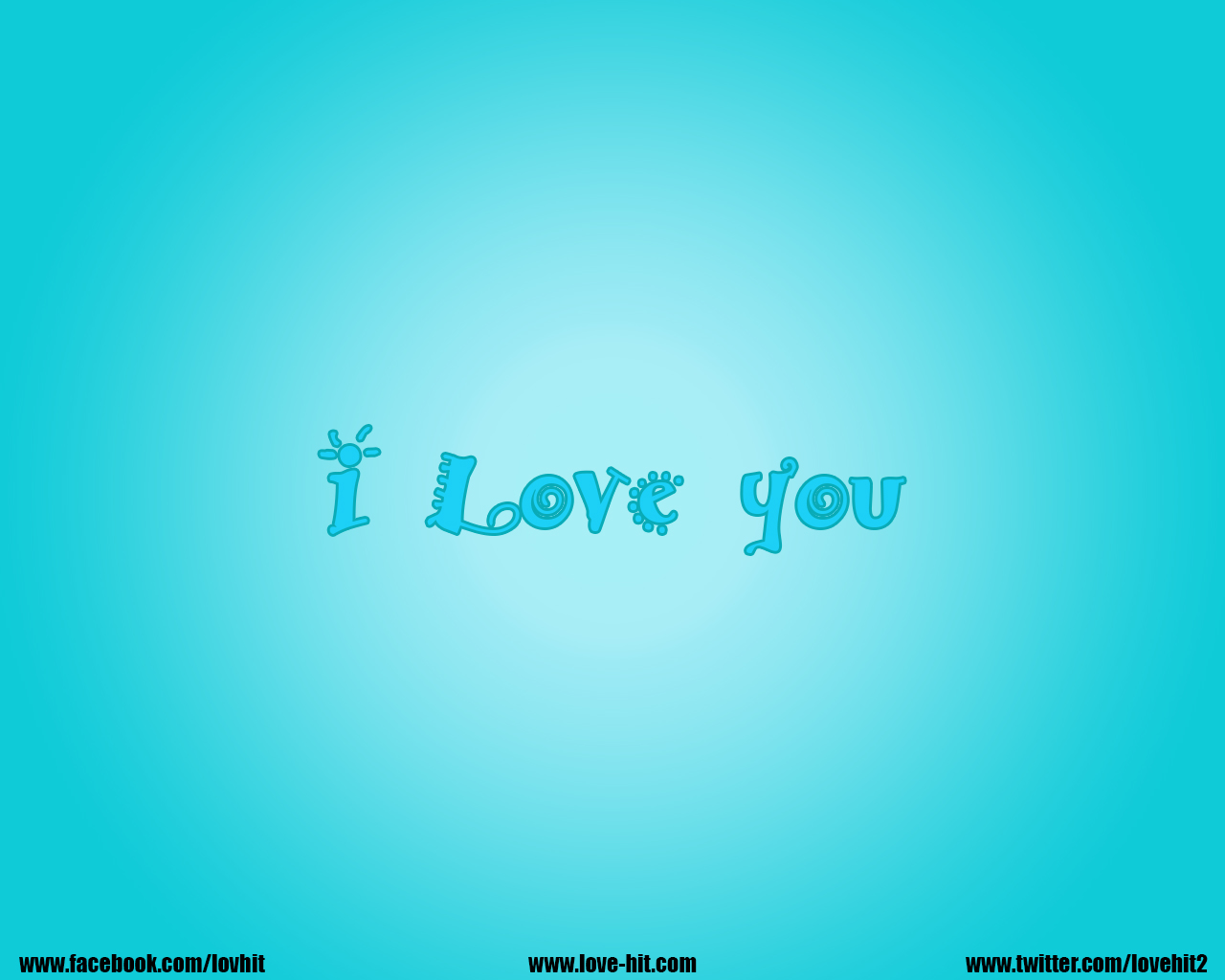 I love you blue