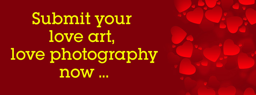 Submit love art and love photography